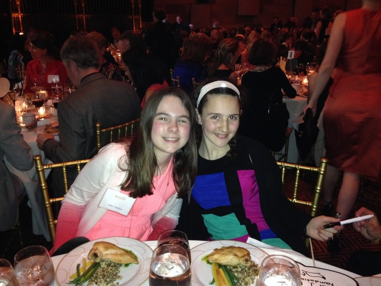 Abby and Ruth at MJF MVP Dinner