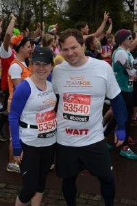 Watt and Mere at start